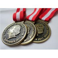 Wholesale Customized Antique Brass / Copper / Zinc Alloy Plating HC Andersen Marathon medal with Die Casting from china suppliers
