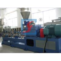 Wholesale Automatic Parallel Plastic Co-Rotation Double Screw Extruders With CE / ISO / BV from china suppliers