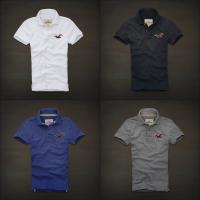 Wholesale Abercrombie fitch hollister polo shirts ,100% cotton polo wholesale brand clothing from china suppliers