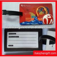 Wholesale promotion shaped pvc luggage tag from china suppliers
