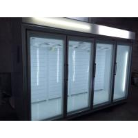 Wholesale Open Multideck Display Fridge With Glasss Door Remoted Cooling System from china suppliers