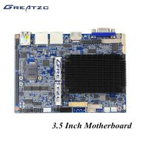 Wholesale N2807 VGA HDMI LVDS 3.5 Inch Fanless PC Motherboard With 6 COM 2 LAN GPIO LPT from china suppliers