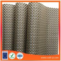 Wholesale woven PVC mesh fabric Reversible Textilene Square Placemats from china suppliers