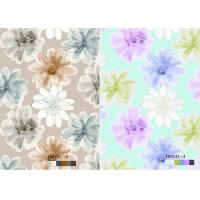 Quality Floral bedding Sublimation 28gsm Printing Transfer Paper 100% Polyester Fabrics for sale