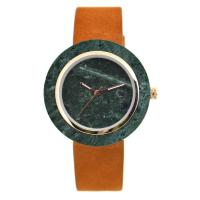 Wholesale 3 ATM  Luxury Marble Face Watch Wooden Case Back Cover For Man / Women from china suppliers