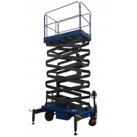 Wholesale High - Strength Mobile Scissor Lift Electrical Hydraulic For Material Handling from china suppliers