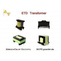 Buy cheap ETD34 Large Power Transformer High Frequency UL Low Height Screen Protect from wholesalers