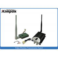 Wholesale FPV Wireless Video Transmitter 1.2Ghz 8CHs / CCTV Video Transmitter and Receiver with 400mW from china suppliers