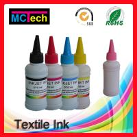 Wholesale 100ML T Shirt Printing DTG Ink Direct to Garment Ink for Epson Digital printer from china suppliers