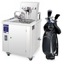 Wholesale 28 Khz Ultrasonic Golf Club Cleaner / Ultrasonic Cleaning Equipment , CE FCC RoHS from china suppliers