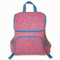 Wholesale Children Cooler Backpack with PEVA Lining and Front Zipper Pocket, Made of 600D Polyester from china suppliers