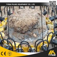 Wholesale Excavator Tooling Round Concrete Pile Breaker , Cutting Diameter 1050mm KP315A from china suppliers