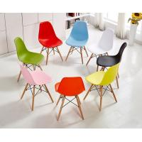 Quality Modern PVC Seat wooden legs used bar stool /  kitchen bar chair H-121-1W46*D55*H83cm for sale