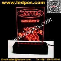 Wholesale LED Acrylic Edge-Lit Sign Base from china suppliers