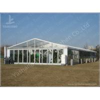 Wholesale Transparent Glass Walls Clear Span Tents Waterproof Unique Marquee Hire from china suppliers