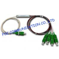 Wholesale FTTX Fiber Planar Lightwave Circuit Splitter Mini Tube Type Low PDL 1 × 4 from china suppliers