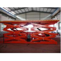Wholesale SJG 0.8 / 1 Dual Fork Elevating Work Hydraulic Lifting Platform, hydraulic scissor lifts from china suppliers