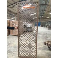 Wholesale High End Customized Hotel Room Divider , Wooden Room Screen Asia Style from china suppliers