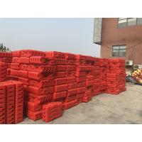 Wholesale Free standing security temporary iron construction fence 2100mmx 2400mm panels from china suppliers