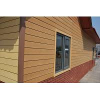 Wholesale Econology Natural Wood Plastic Wpc Wall Siding Composite Outdoor Decorative from china suppliers