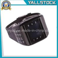 Wholesale Dual SIM Duan Standby Mobile Phone Watch Black-E02056 from china suppliers