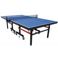 Wholesale Indoor Professional MDF Foldable and Movable Table Tennis Table with Wheel Easy Install from china suppliers