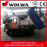 Wholesale hot sale diesel engine mini rubber tracked carrier with 1000kg loading capacity from china suppliers