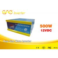 Quality CE off grid Solar Inverter Online DC12v AC 220v/230v 500w 1000W for sale