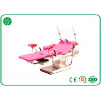 Wholesale customized Red medical exam beds , stainless steel surgical tables with electric linak motors from china suppliers