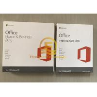 Wholesale Microsoft Office Home And Business 2016 PKC Version 64 Bit OEM New Key from china suppliers