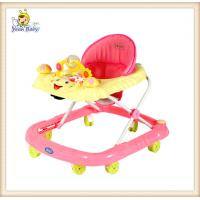 Wholesale Safety First Rolling Baby Walker Pink from china suppliers