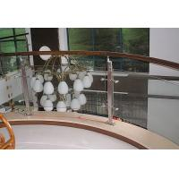Wholesale Custom Toughened Staircase Railing Glass, 15mm Tempered Safety Glass For Handrail from china suppliers