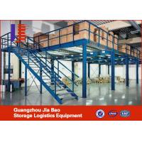 Wholesale Professional 2 Layer Mezzanine Storage System , Industrial Metal Shelf System from china suppliers