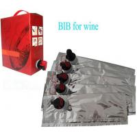 Wholesale Laminated Aseptic Bib Bag In Box Customize 2L 3L 5L 10L For Red Wine from china suppliers