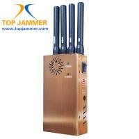 Wholesale 4 Stout Ant. GSM 3G Wifi GPS Cellphone Jammer Blocker,Golden/Fan/DIP/Leather Case/Car Char from china suppliers