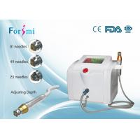 China White Fractional microneedle rf equipment professional for  removing wrinkles on sale