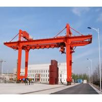 Wholesale Heavy Duty Seaport 35 Ton Track - Type Container Gantry Crane For Shipbuilding from china suppliers