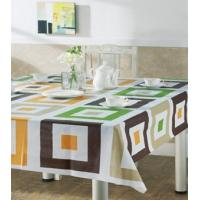 Wholesale Economical Pvc Plaid Table Cloth , Outdoor Table Covers from china suppliers