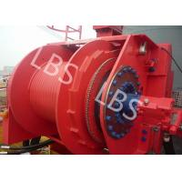Wholesale Grey Colour Anchor Windlass Winch Smooth Durm For Pulling / Pushing from china suppliers