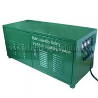 Green Rechargeable 6A 24V Industrial Lighting Fixture / Power Distribution Box For LED light