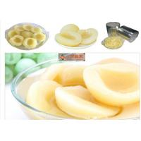 Wholesale Nutritious Organic Canned Fruit / Canning Preserving Peaches In Jars Low Sugar from china suppliers