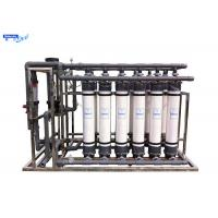 Wholesale UF Borehole Water Treatment Ultrafiltration Membrane System Fiber Glass Material from china suppliers