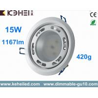 Quality High Lumen Dimmable 80lm/w 15W Led Downlight With Lextar 5630 Chips for sale