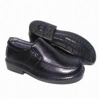 Wholesale Children's school shoes with PU upper and injection outsole from china suppliers