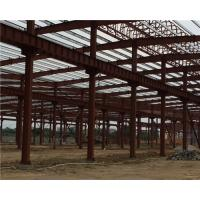 Wholesale Q235 / Q345 Pipe Truss Large Steel Building Workshop Durable Fabrication Steel Structures from china suppliers