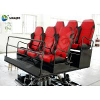 China Shooting Gun Game 7D Movie Theater Hydraulic Platform Chairs for 6 People on sale