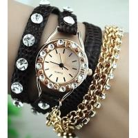 Wholesale New Arrival Rhinestone Bracelet Design Watch Ladies Watch Fashion Woman Watch from china suppliers