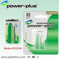 Wholesale Cheap  pvc jacket Carbon Zinc Batteries 6F22 9V for Walkman,  Toys  from china suppliers