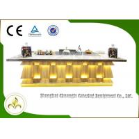Buy cheap Multi-function Teppanyaki Grill Table Induction Fume Down Exhaust Soup Stove BBQ Griddle from wholesalers