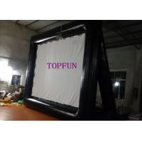 Wholesale Black / White Airblown Inflatable Movie Screen With Project  5 x 4 m from china suppliers
